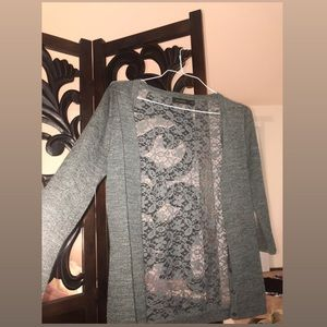 The Limited lace cardigan